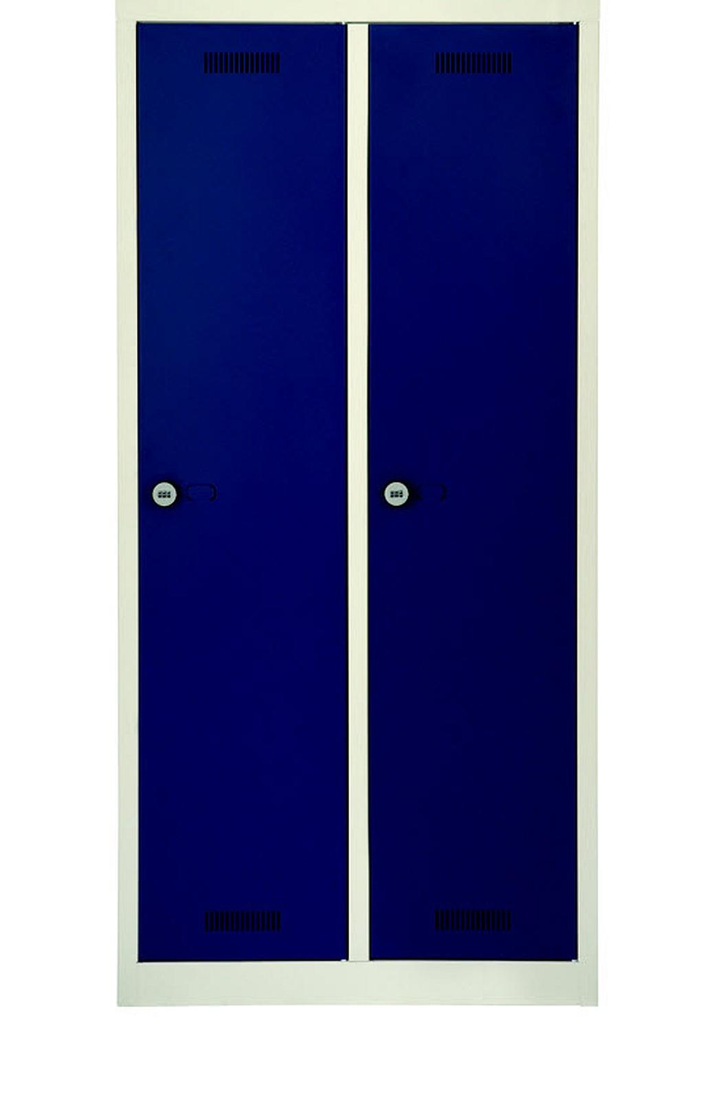 Bisley-Online - ML08D1, MonoBloc, 2 Abteile, Garderobenschrank ...